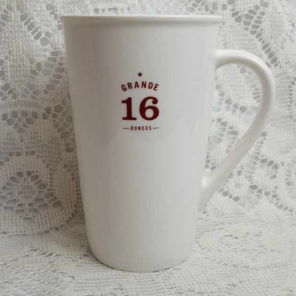 Starbucks 16oz Grande Ceramic Mug 2010